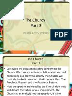 The Church Part 3