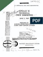 Apollo 10 Technical Debriefing