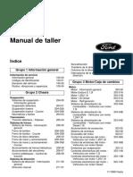 [FORD] Manual de Taller Ford Fiesta 99