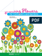 Growing Flowers for Containers and Gardens
