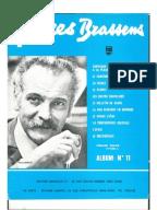 Brassens georges paroles de toutes ses chansons - Les amoureux des bancs publics paroles ...