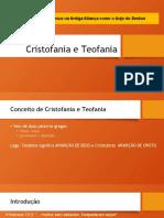 1-Cristofania e Teofania