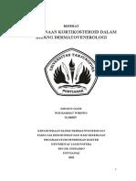 73270096 Referat Penggunaan Kortikosteroid Dalam Bidang DermatoVenerologi