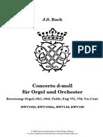 Koncer Bacha d Minor