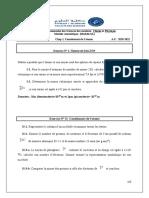 SERIE N° I Constituants de latome  2020-2021