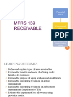1. MFRS 139 RECEIVABLE