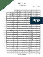 Delecta - Score and Parts