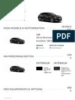 Peugeot - configuration 2
