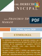 TEMAS DER.Municipal