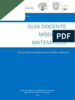 GUÍA M1 3BGU Matemática