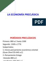 La Economía Preclásica II