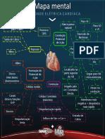 Atividade Elétrica Cardíaca - Mapa Mental