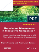 Knowledge Management in Innovative Companies 1 by Ermine, Jean-Louis Saulais, Pierre (z-lib.org)