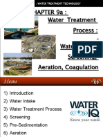 29103542 Water Treatment Technology Tas 3010 Lecture Notes 9a Water Intake Screening Aeration Coagulation