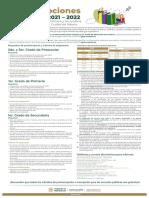 Cartel Preinscripciones 2021 2022 AEFCM
