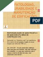 PITÁGORAS- PÓS AP- PATOLOGIA DAS CONSTRUÇÕES