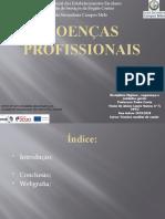 Doenças profissionais Laura Nunes