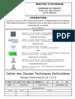 Cahier Des Closes Techniques