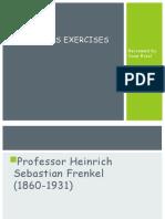 Frenkel's Exercises