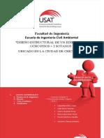 1. DISEÑO ESTRUCTURAL DE UN EDIFICIO DE CINCO PISOS