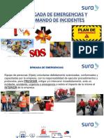 Brigadas Emergencias y Sistema Comando de Incidentes (Sura)