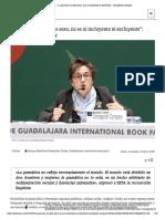 """ZETA – """"La gramática no tiene sexo, no es ni incluyente ni excluyente""""_ Concepción Company"""
