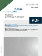 IEC 80601-2-49-2018