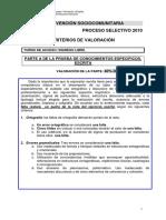 59435-Criterios de Valoración Intervención Sociocomunitaria