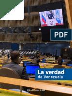 Discurso del Presidente Nicolas Maduro en la Asamblea General de la Onu 2020