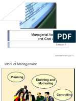 Presentation 1 Managerial Accounting Cost Concepts
