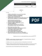 Teste n.° 6 - Álvaro de Campos