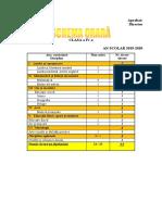 schema_orara_clasa_a_iva
