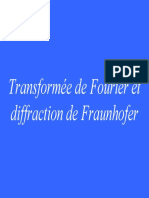 8_IM6,Transforme de Fourier et diffraction deFraunhofer