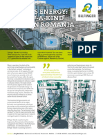 Biomass Energy - First of a Kind Plant in Romania