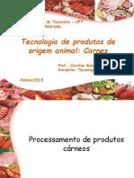 Tecnologia de produtos de origem animal_ AULA
