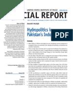 Indus water politics