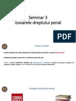 Seminar 3 - izvoarele DP