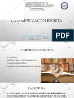 La Cumunicacion Escrita