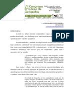 O CAMPO E A CIDADE NA PRÁTICA DE ENSINO EM GEOGRAFIA