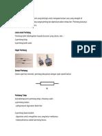 nota-komponen elektronik