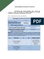 Proyecto RECONOCIMIENTO DE PASIVOS Y DE GASTOS