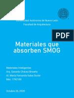 Materiales que Absorben Smog