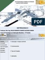 Aula 18 - Metrologia II
