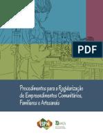 Procedimentos Para Regularizacao de Empreendimentos Comunitarios Familiares e Artesanais