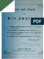 Nittinger, Carl Georg Gottlob - Gott und Abgott oder die Impfhexe