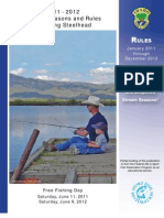 2011 - 2012 Idaho Fishing Seasons and Rules
