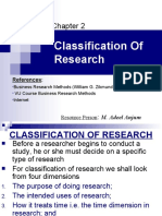 02. Classification of Research