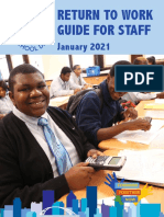 Return to work guide for RCSD staff