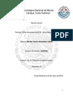 Reporte Final Servicio Social Yareeeee