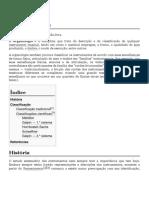 Organologia – Wikipédia, a enciclopédia livre